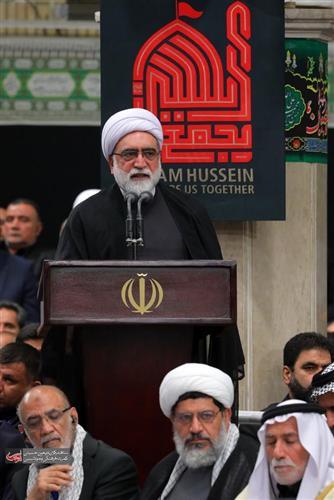 دیدار رهبری با موکب داران عراقی